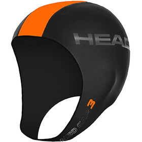 Head 3mm Swimcap Black/Orange